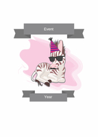 Zebra Event Invitation